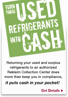 Put cash back into your pocket with our refrigeration program